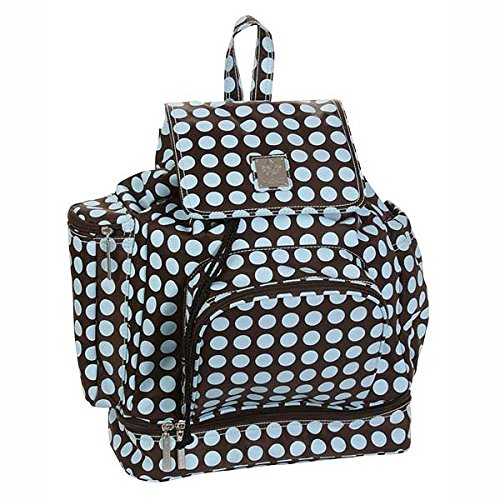 Backpack Diaper Bag Color: Chocolate Blue