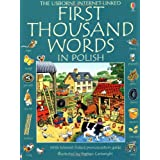 First Thousand Words in Polish (Usborne First Thousand Words)by Mairi Mackinnon