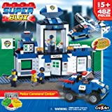 Cra Z Art Superblox Deluxe Police Station Construction Set 482 Pc N