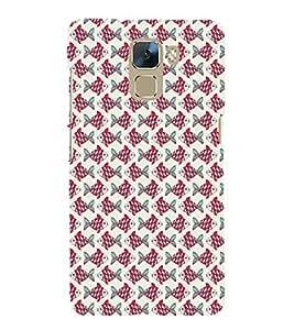 EPICCASE zig zag fishes Mobile Back Case Cover For Huawei Honor 7 (Designer Case)