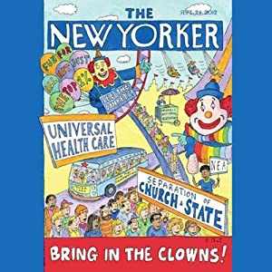 The New Yorker, September 24, 2012 (Jill Lepore, Malcolm Gladwell, Gay Talese) Periodical