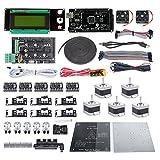 サインスマート Ramps 1.4 + Mega2560 R3 + LCD2004 + A4988 + J-head 3Dプリンタ キット for Arduino RepRap