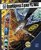 echange, troc Nathalie de Saint-Denis - QuarkXpress 5 pour PC - MAC (avec CD-ROM)