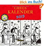Gregs Kalender 2013: Mit Stickerbogen
