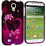 """myLife Purple + Pink Tropical Love Series (2 Piece Snap On) Hardshell Plates Case for the Samsung Galaxy S4 """"Fits... by myLife Brand Products"""