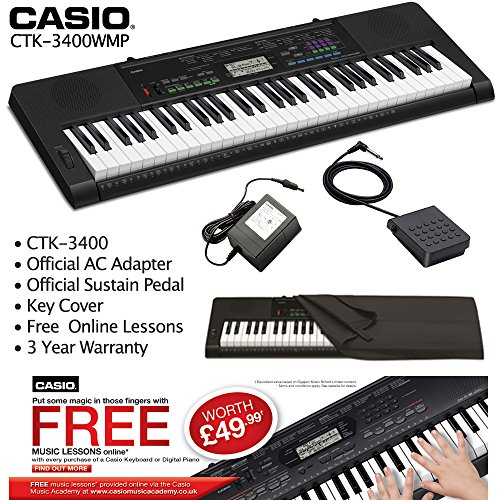 casio-ctk-3400-sp-touch-sensitive-keyboard-sustain-pedal-ac-adapter-dust-cover-free-lessons-fulfille