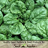 "180 Seeds, Spinach ""Bloomsdale Long Standing"" (Spinacia oleracea) Seeds By Seed Needs"