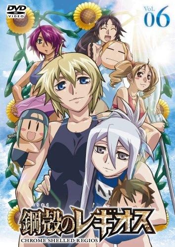 鋼殻のレギオス第6巻 (限定版) [DVD]