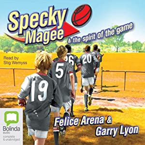 Specky Magee and the Spirit of the Game Audiobook