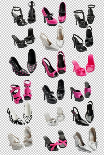 BARBIE BASICS SHOES PACK LOOK 02 COLLECTION 1.5 FABULOUS
