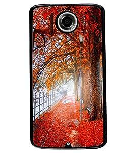 ColourCraft Beautiful Scenery Design Back Case Cover for MOTOROLA GOOGLE NEXUS 6