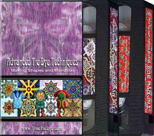 Advanced Tie Dye Techniques:  Making Shapes and Mandalas [VHS]