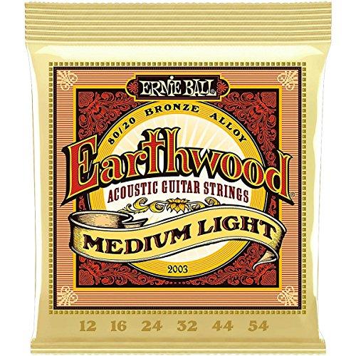 Ernie Ball Earthwood 80/20 Bronze Acoustic Guitar Strings Me