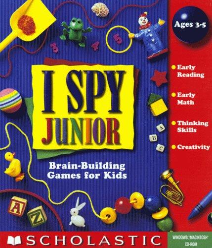 I Spy Junior Jewel Case  OLD VERSIONB00009WO4R