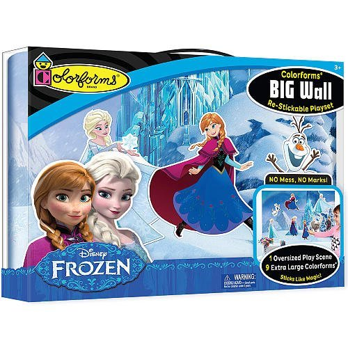 Colorforms Brand Frozen Big Wall Playset