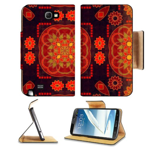 Pattern Colourful Samsung Galaxy Note 2 N7100 Flip Case Stand Magnetic Cover Open Ports Customized Made To Order Support Ready Premium Deluxe Pu Leather 6 1/16 Inch (154Mm) X 3 5/16 Inch (84Mm) X 9/16 Inch (14Mm) Liil Note Cover Professional Note2 Cases N front-910007