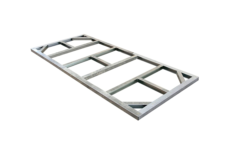 Tepro Unterkonstruktion zu Metallgerätehaus Pent Roof 8×4 günstig bestellen