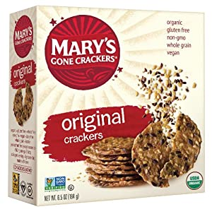 Mary's Gone Crackers, Original, 6.5-Ounce Boxes (Pack of 12)