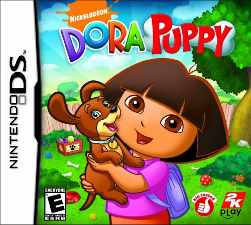 Dora The Explorer: Dora Puppy - Nintendo Ds front-532931