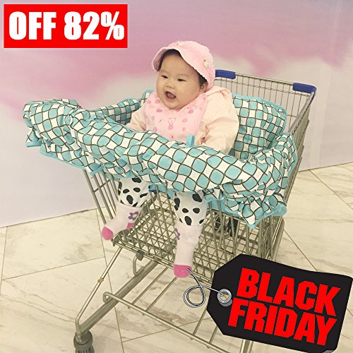 76-off-sunwell-2-in-1-shopping-cart-high-chair-cover-for-baby-kids-shopping-cart-cover-g-design