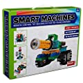 4-in-1 Robot Kit For Kids And Adults - Make And Control Your Own Rc Robots Building Blocks No Soldering Required Educational Wireless Remote Control Toy Building Set - Model Sm1702 - Tank Race Car Six-legged Bug And Knight On A Horse Medium To Hard Diffic
