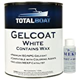 TotalBoat Gelcoat (White, Gallon with Wax) (Color: White, Tamaño: Gallon With Wax)