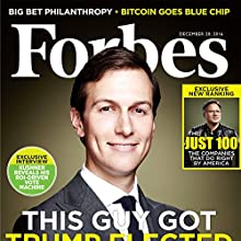 Forbes, December 20, 2016 Periodical by  Forbes Narrated by Daniel May