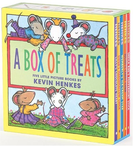 A Box of Treats Five Little Picture Books about Lilly and Her Friends