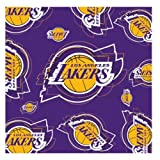 NBA Los Angeles Lakers Logo & Symbol Purple Silk Scarf Polyester New With Tags at Amazon.com