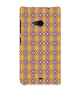 Ebby Premium Printed Mobile Back Case Cover With Full protection For Nokia Lumia 535/Microsoft Lumia 535 (Designer Case)