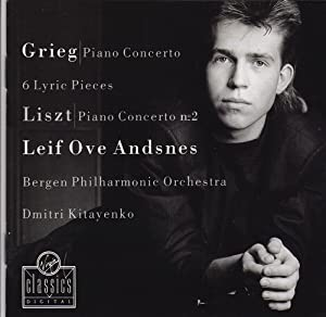 Grieg: Piano Concerto, 6 Lyric Pieces, Op.65 / Liszt: Piano Concerto No.2 in A Major
