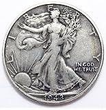 1942 Walking Liberty Half Dollar Seller Good