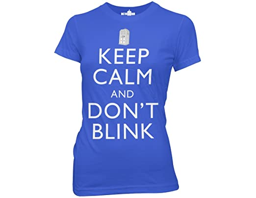 Ripple Junction's Doctor Who Keep Calm and Don't Blink T-shirt