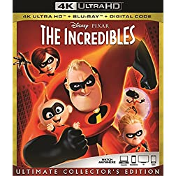 The Incredibles [4K Ultra HD + Blu-ray]