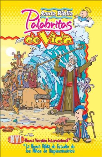 Santa Biblia palabritas de vida NVI: La nueva Biblia de estudio de los niños de Hispanoamérica (Spanish Edition)