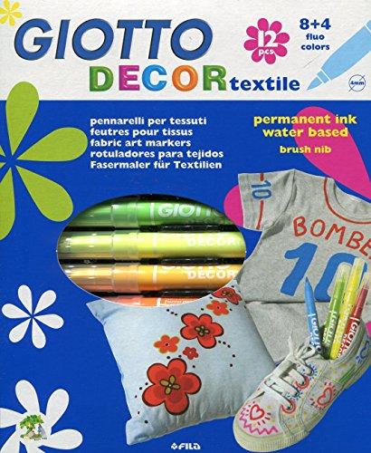 giotto-494900-pack-de-12-rotuladores-decorativos-para-tejidos