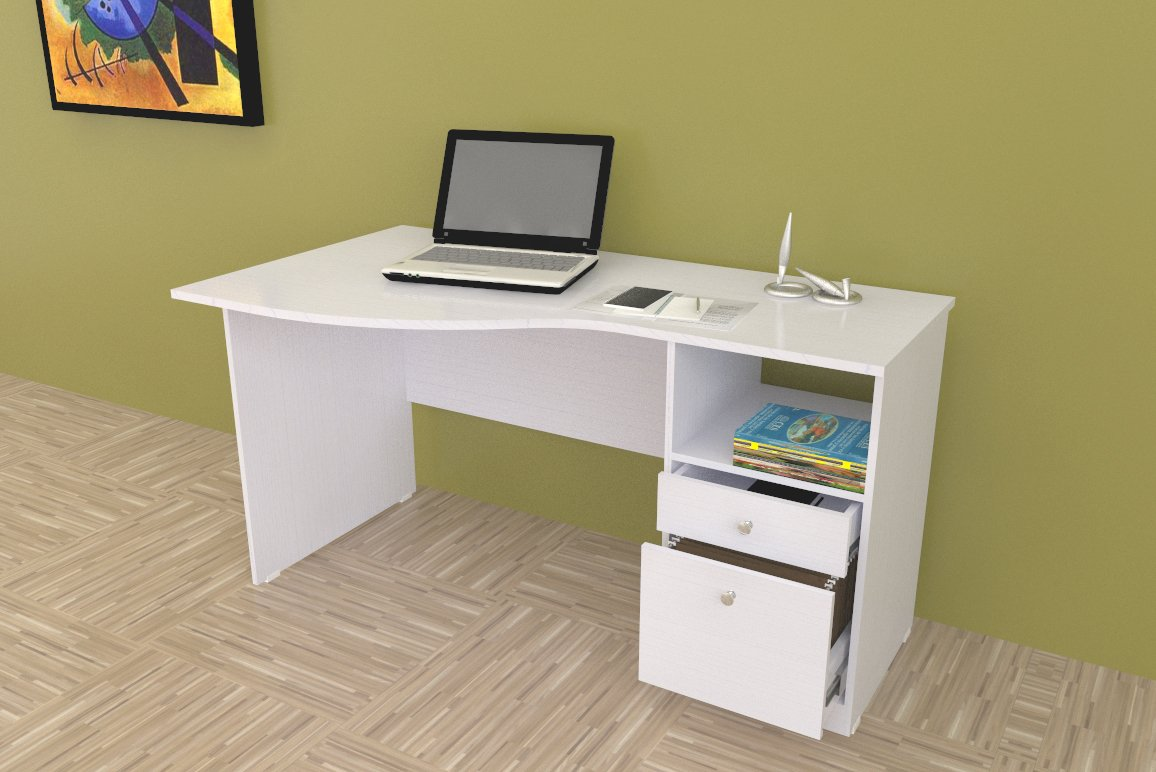 Inval America Curved Top Desk at Sears.com