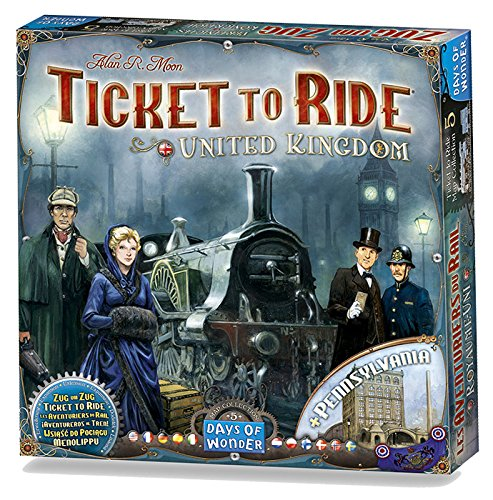 Ticket to Ride Map Collection Volume 5 : United Kingdom Board Game (Ticket To Ride Uk compare prices)
