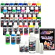 CREATEX MASTER AIRBRUSH COLOR SET 36 2 OUNCE COLOR SET