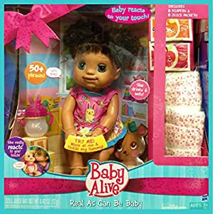 Baby Alive Real As Can Be Baby Doll Deluxe Set Brunette ...