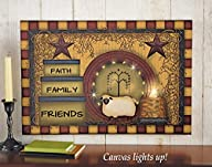 Lighted Primitive Country Canvas