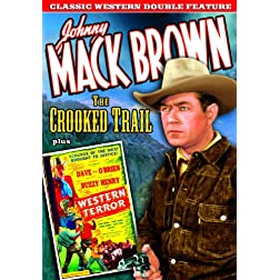 Classic Western Double Feature: Crooked Trail (1936) / Western Terror (aka Buzzy Rides the Range) (1940)
