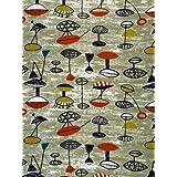 Flotilla furnishing fabric, by Lucienne Day (V&A Custom Print)