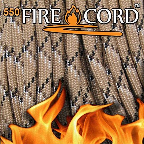 Fire Cord 550 Paracord, Desert Storm Camo