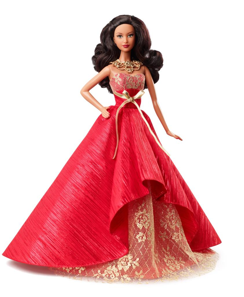 Amazon.com: Barbie Collector 2014 Holiday African-American Doll: Toys