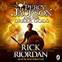 Percy Jackson and the Greek Gods Audiobook by Rick Riordan Narrated by Jesse Bernstein