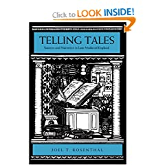Telling Tales: Sources and Narration in Late Medieval England