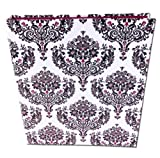 3 Ring bloom Fashion Binder 3-Ring Binder, 1 Inch Capacity, 8.5 x 11 Inches Damask Design