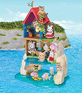 Calico Critters Calico Critters Secret Island Playhouse Toy