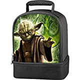Thermos Star Wars Yoda Dual Lunch Kit - Black
